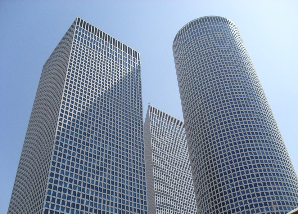 Azrieli buildings Tel Aviv illustrating Israel UK AI programme